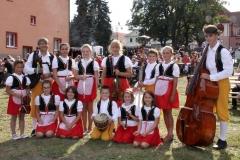 Dětský lidový soubor ZUŠ Nepomuk Pšeničky 021