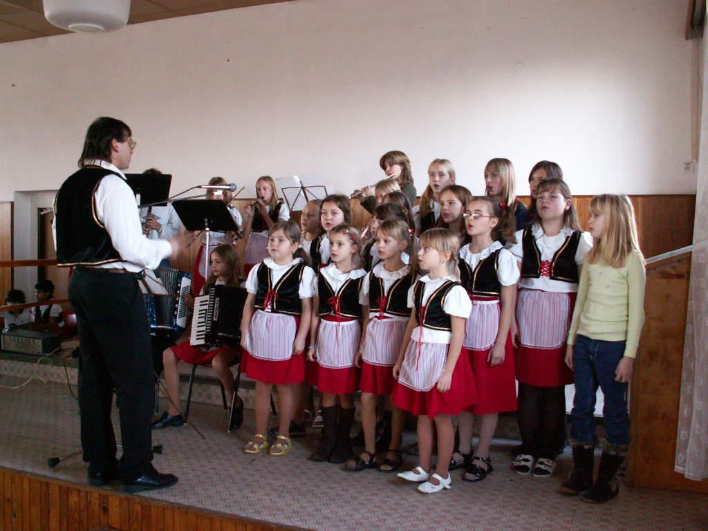 Tradiční setkání sdůchodci vKasejovicích - 4. prosinec 2006