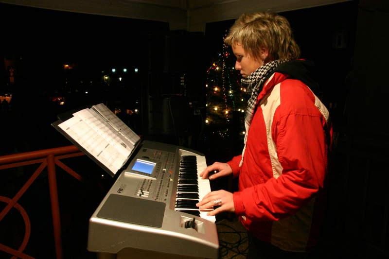 Tradiční vánoční trhy a zpívání koled v Nepomuku - 13. prosinec 2006