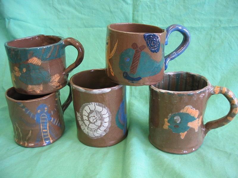 Výtvarný obor - Ukázky prací - Keramika