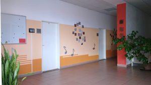 Prostory školy ZUŠ Nepomuk